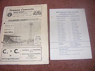 1986/7 Preston Reserves v Stoke City