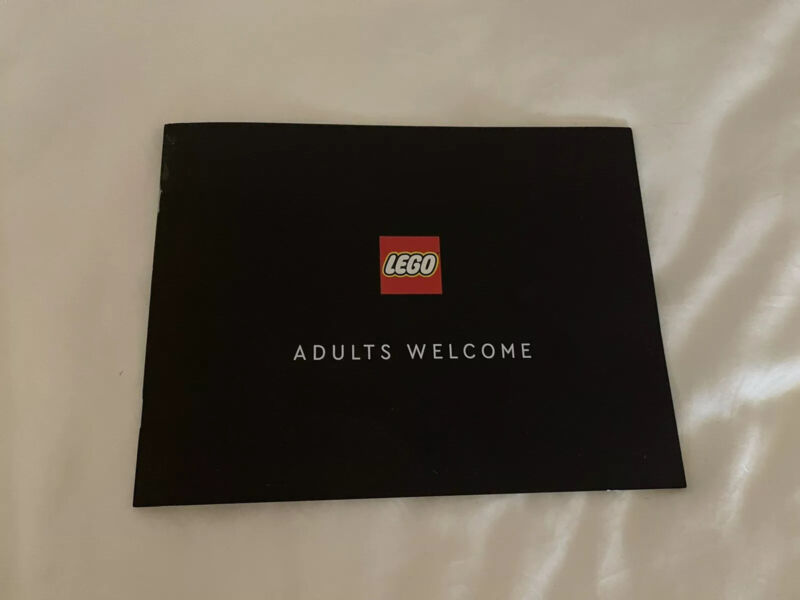 NEW Lego Summer 2021 Adult Welcome Catalog
