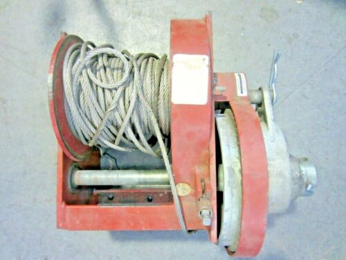 THERN M452B WORM GEAR LIFTING HAND WINCH, 4,000LB CAPACITY!!