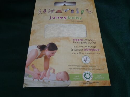 Janey Baby Organic Cotton Changing Table Pad Cover 16
