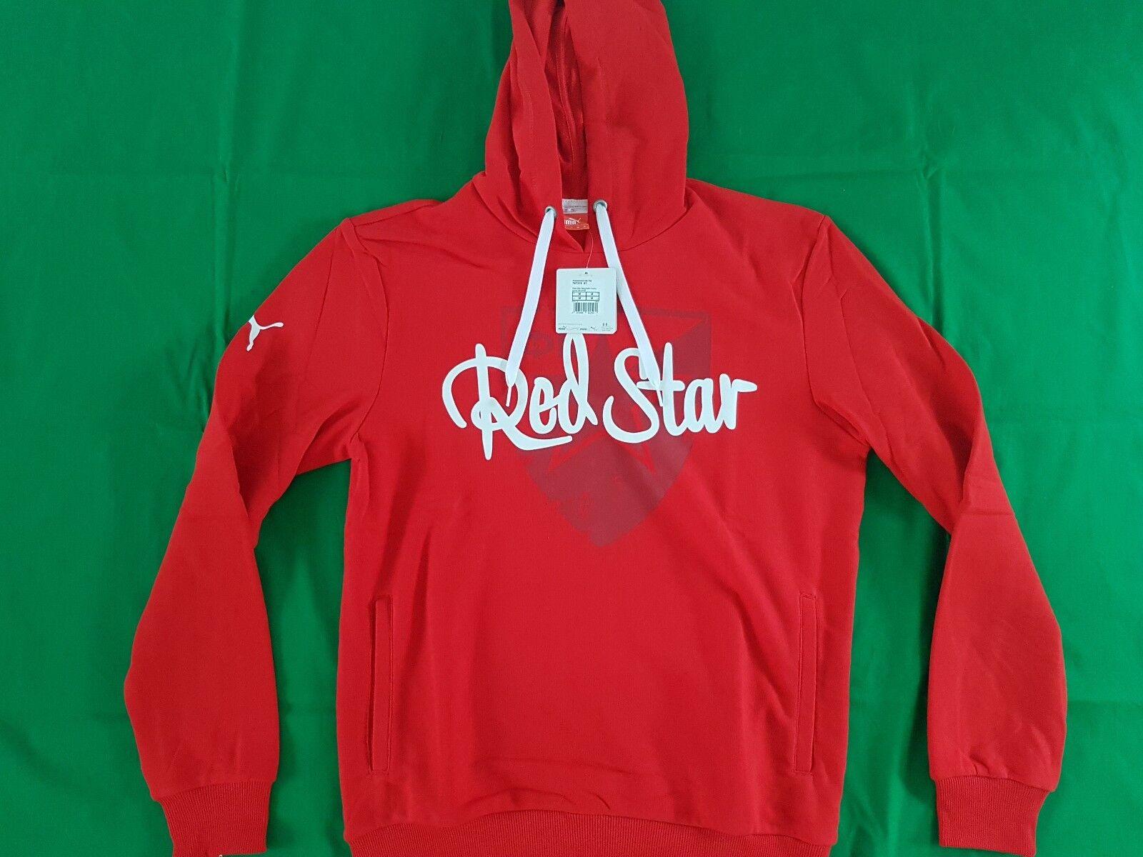 Roter Stern Belgrad Hoodie 2015/16 Puma Gr S M XL -NEU- Crvena Zvezda Pullover