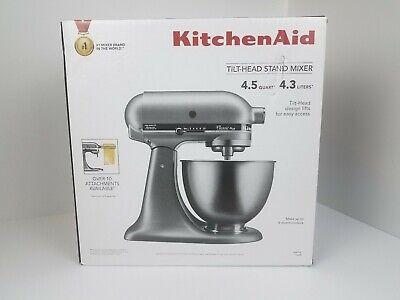 KitchenAid KSM75SL Classic Plus 4.5-Qt. Tilt-Head Stand Mixer, Silver BRAND  NEW