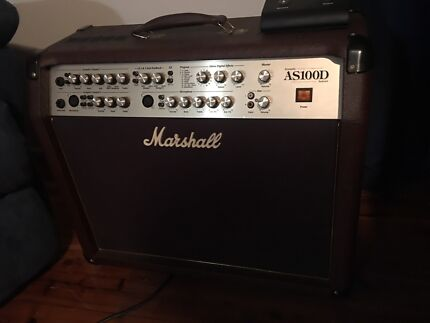 Acoustic Amplifier Marshall As100d