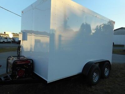 Refrigerated Walk In Cooler Trailer Custom 202012 X 7 X 7 5 Insulated All