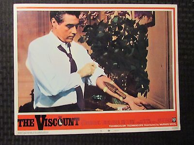 1967 THE VISCOUNT Original 14x11 Lobby Card #3 5 FN/FN+ LOT of 2 Kerwin Mathews
