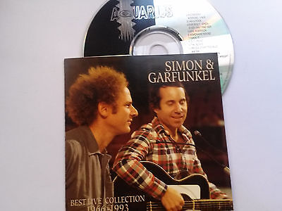 simon & garfunkel rare import cd BEST LIVE COLLECTION 1966-93 live usa + europe