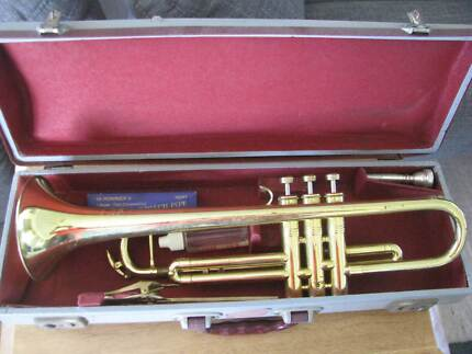 Trumpet made by Huttl