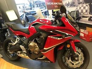 Honda CBR650F NEW Fitzroy North Yarra Area Preview