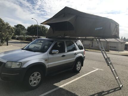 2004 Ford Escape 4x4 & Kings Rooftop tent + Camping Equipment