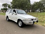 2005 Ssangyoung Musso Sports (4x4)Dual Cab Turbo Diesel 7Months Rego Liverpool Liverpool Area Preview