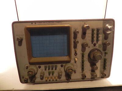 Hp 1740a Hewlett Packard 100 Mhz 2 Channel Oscilloscope Good Working