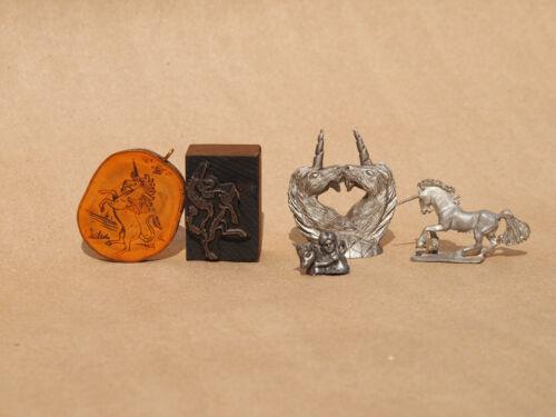 Vintage Unicorn Trinket Knickknack Keepsake Lot