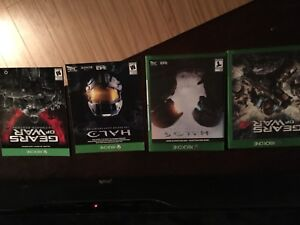 Halo and gears of war