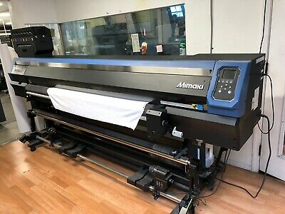Mimaki Tx300-p 1800 Fabric Roll To Roll Textile  And Dye Sub Printer