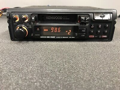 Kenwood KRC 2001 Car Cassette Radio Stereo Retro