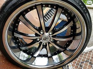 "Lexani 20 inch x 10"" wheels fit Audi VW Skoda Mercedes deep dish Faulconbridge Blue Mountains Preview"
