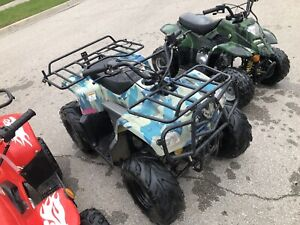 110cc Kids Automatic ATV! Running no issues!