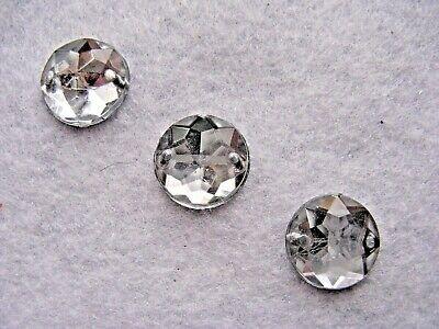 Strasssteine aufnähen Aufnähsteine faccetiert Quadrat 12mm Crystal Karostonebox