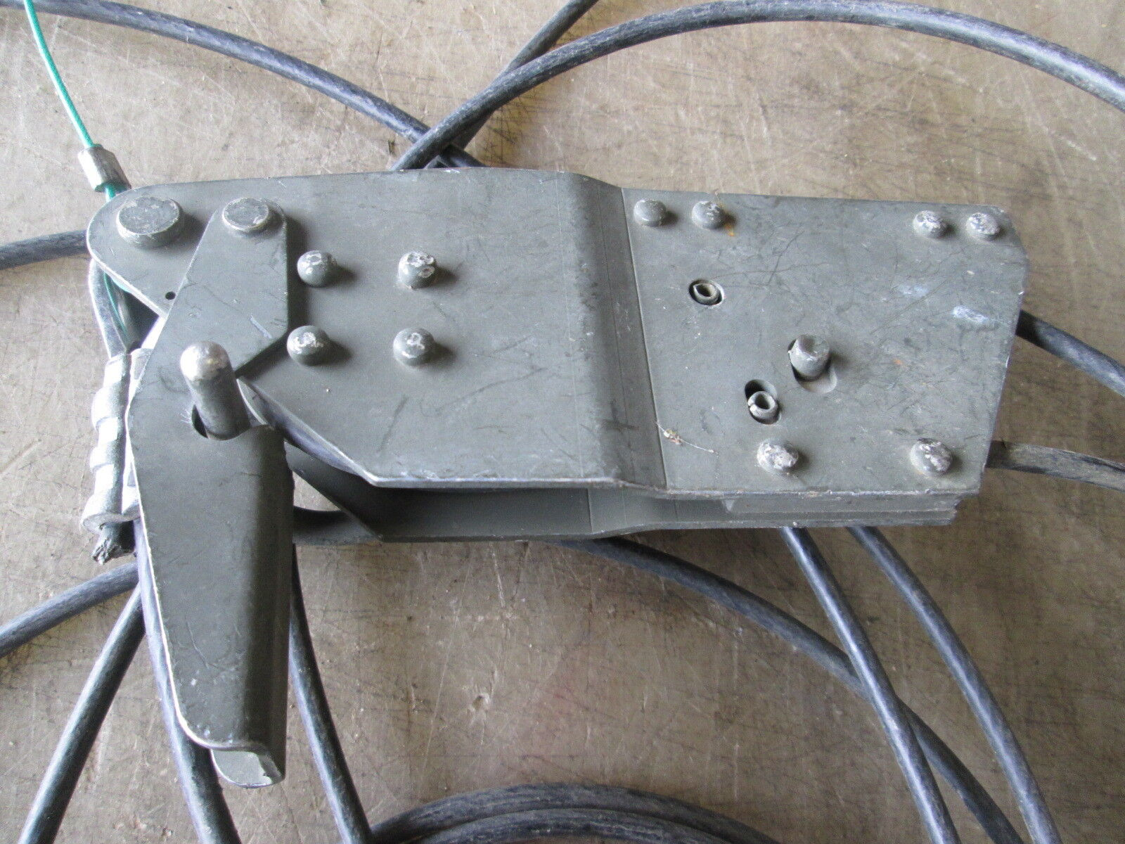 USED GUY WIRE Cable w/Clamp, for Military Antenna Mast - $29.00 ...