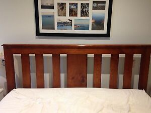 Queen bed frame and free mattress if needed Beaumaris Bayside Area Preview
