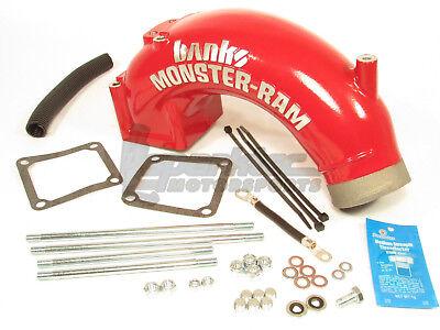 Banks Monster-Ram Air Intake Elbow Kit for 03-07 Dodge Ram 2500 3500 5.9L Diesel (2500 Air Intake Kit)