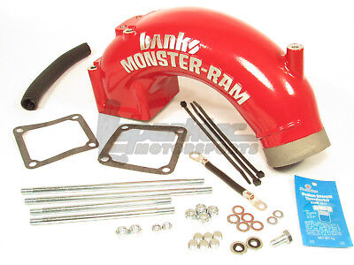 Banks Monster-Ram Air Intake Elbow Kit for 03-07 Dodge Ram 2500 3500 5.9L Diesel