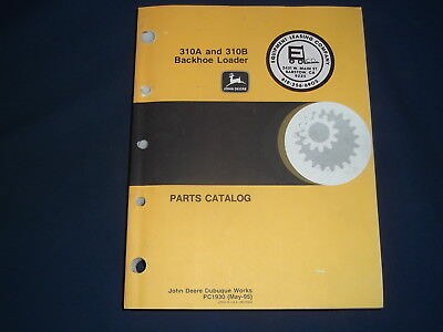 John Deere 310a 310b Backhoe Loader Parts Manual Book Pc-1930