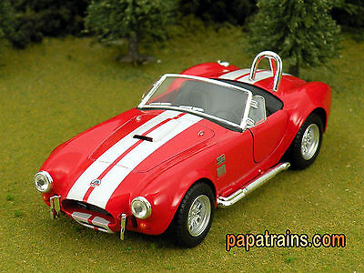 Die Cast Red 1965 Shelby Cobra 427 S/C G Scale 1:32 By Kinsmart