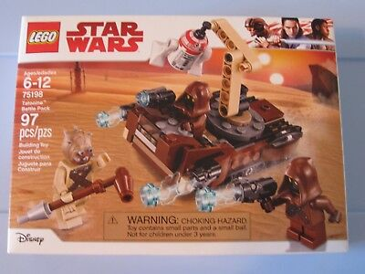 NEW SEALED STAR WARS LEGO SET 75198 TATOOINE BATTLE PACK - IN HAND