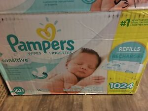 Size 3 diaper and pampers wipes