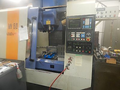 1997 Leadwell Mv 610 Vertical Cnc Milling Machine With 51 Bt40 Tool Holders
