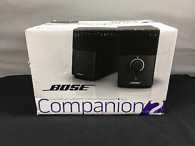 NEW Bose Companion 2 Series III Multimedia Computer Speakers