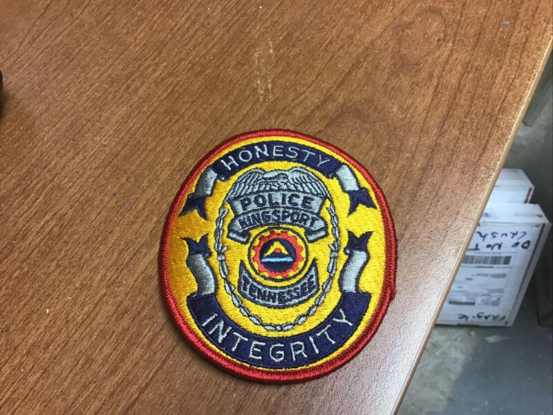 Kingsport Tennessee Police Patch New Old Stock