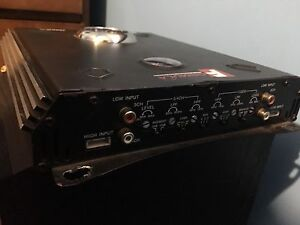 One 4 channel amp 1000watts