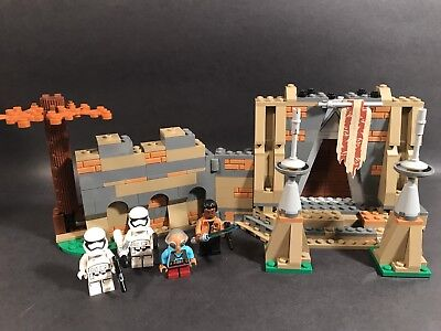 LEGO STAR WARS THE FORCE AWAKENS 75139 BATTLE ON TAKODANA SET WITH