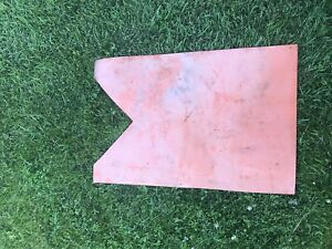 Used heavy duty home plate for slo pitch