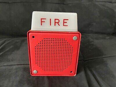 Vintage Rare Wheelock Es-el1-ws-24 Fire Alarm Hornstrobe
