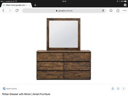 Beautiful Mirrored Bedside Tables Australia