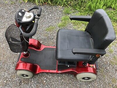 RED STERLING SAPPHIRE 2 4-Wheel Mobility Scooter