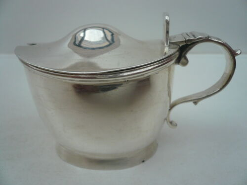 Antique Sterling Silver Mustard Pot, George Smith III & William Fearn 1794