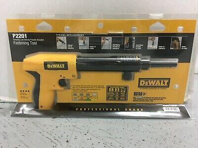 Dewalt P2201 Fastening Tool Low Velocity Powder Actuated New