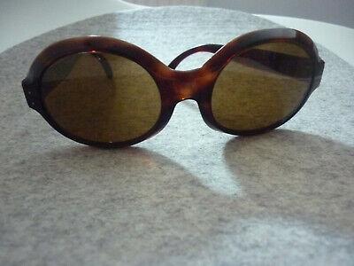orig vintage Damen Sonnenbrille Design Frankreich / France Audrey Hepburn Style