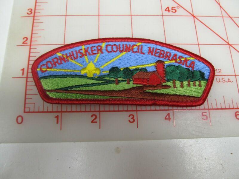 Cornhusker Council CSP collectible PB patch (o34)
