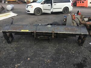 2011 TAIL GATE  FOR HINO OR MITSUBISHI TRUCK