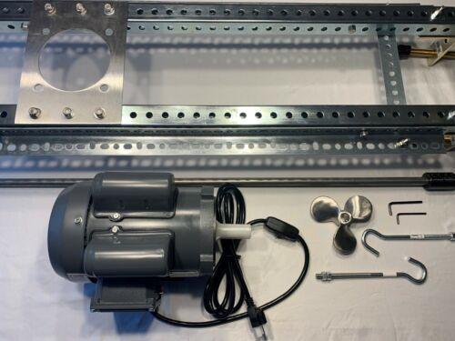 IBC Tote Mixer Agitator 1/2 HP Single Phase Direct Drive