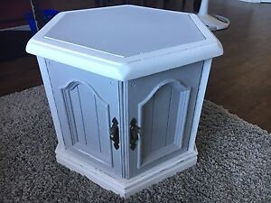 Chalk painted and distressed table