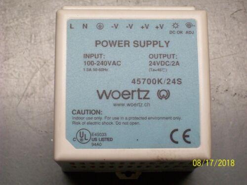 WOERTZ POWER SUPPLY , 45700K/24S