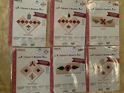 Jo Ann Fabrics Nature's Bounty Quilt Top Block of the Month Setting Kit Patterns Fabric Quilt Top Kit Blocks