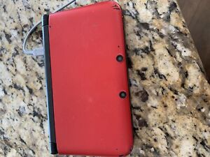 Nintendo 3DS XL,  games, and case