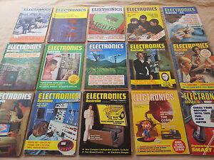 Electronics Australia Magazines from 1951 to 2001